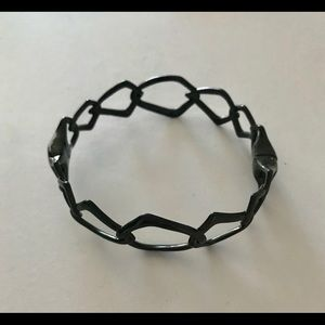 Alexis Bittar Liquid Gunmetal bracelet